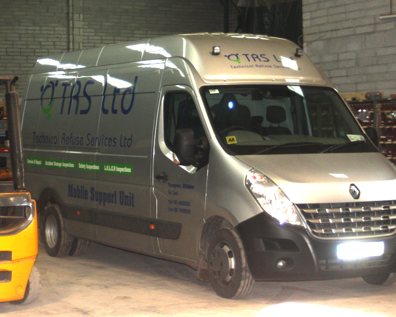 TRS - Technical Refuse Service Van